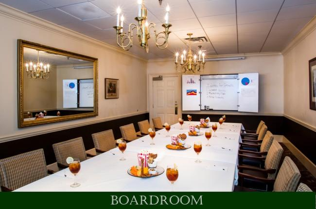 Event Rooms Fox Den Country Club - Conference room table set up